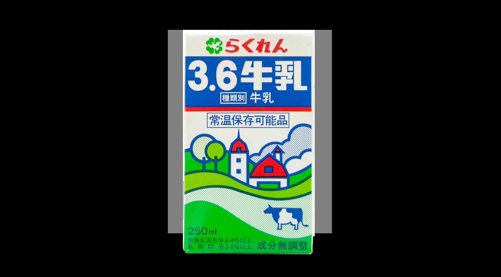 商品イメージ:らくれん3.6牛乳