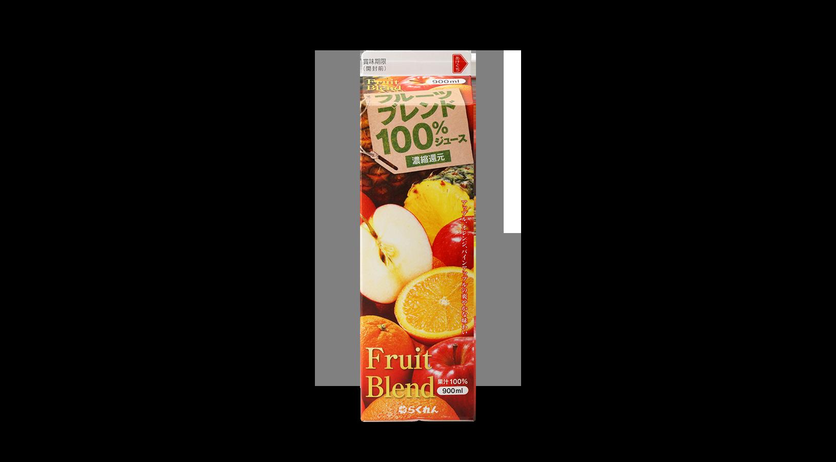 商品イメージ:フルーツブレンド100%ジュース